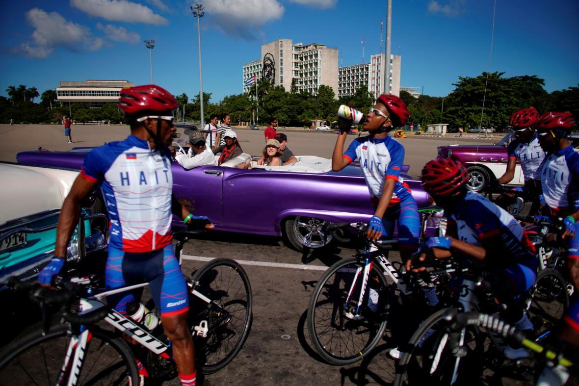 Cyklisté na Haiti bojují za lepší společnost