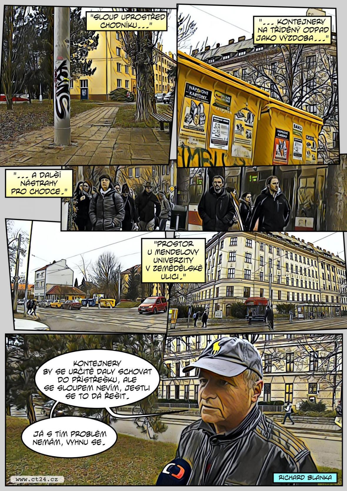 Veřejné prostranství v Brně