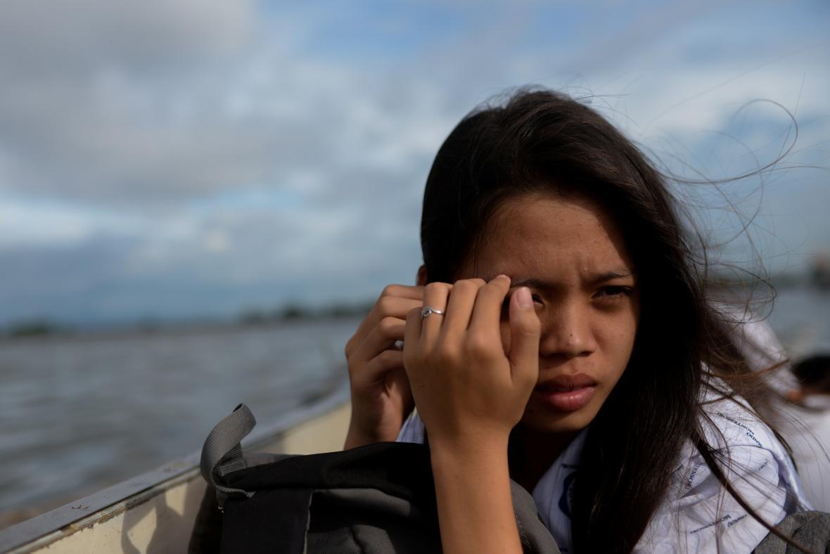 Mizející vesnice na Filipínách