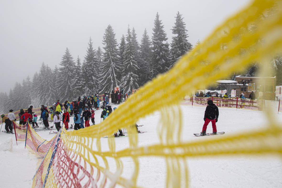 Začátek lyžařské sezony 2019/2020