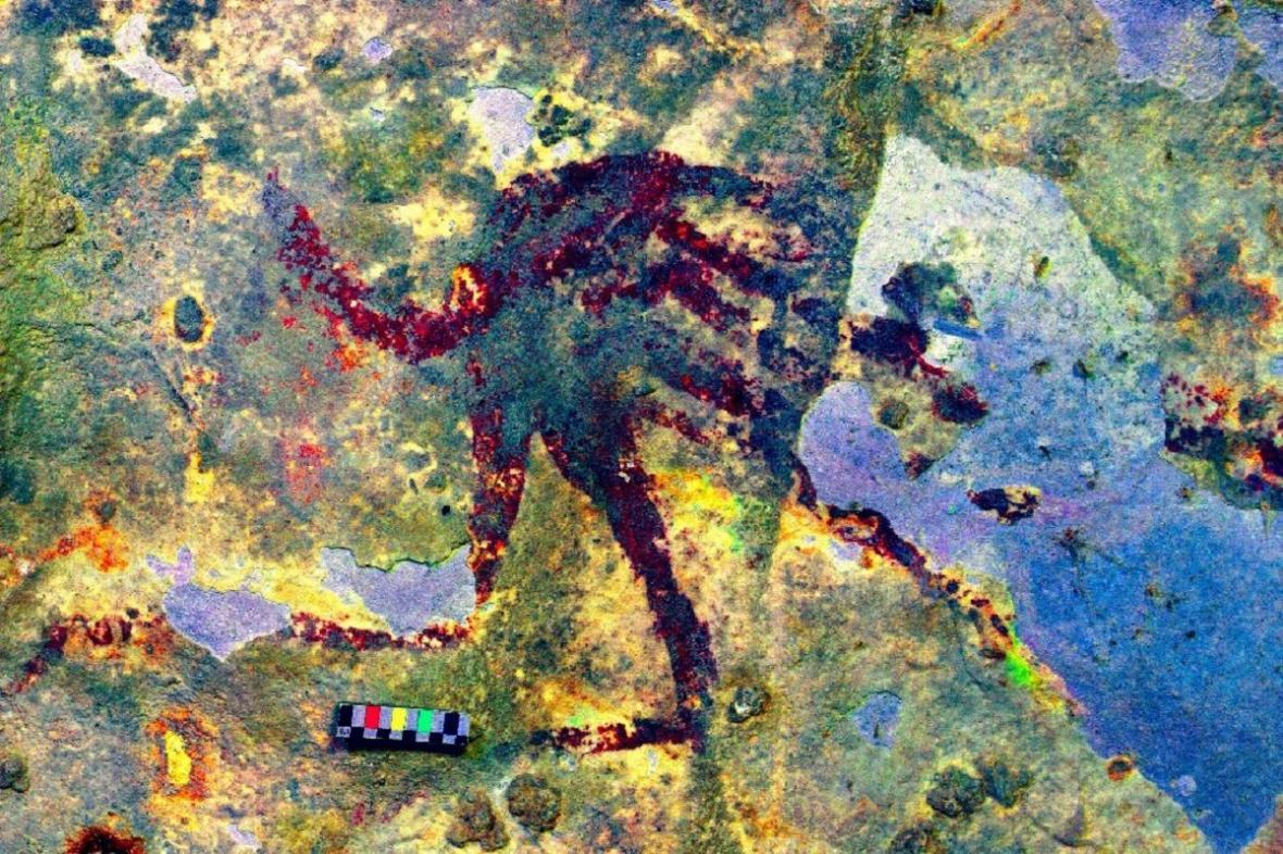 Nejstarší jeskynní malba