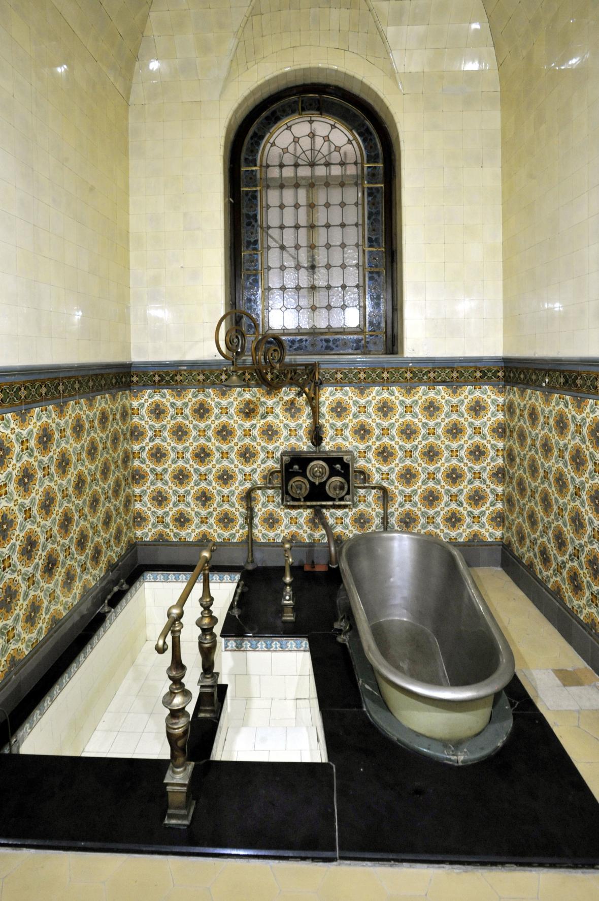 Koupelna v Císařských lázních