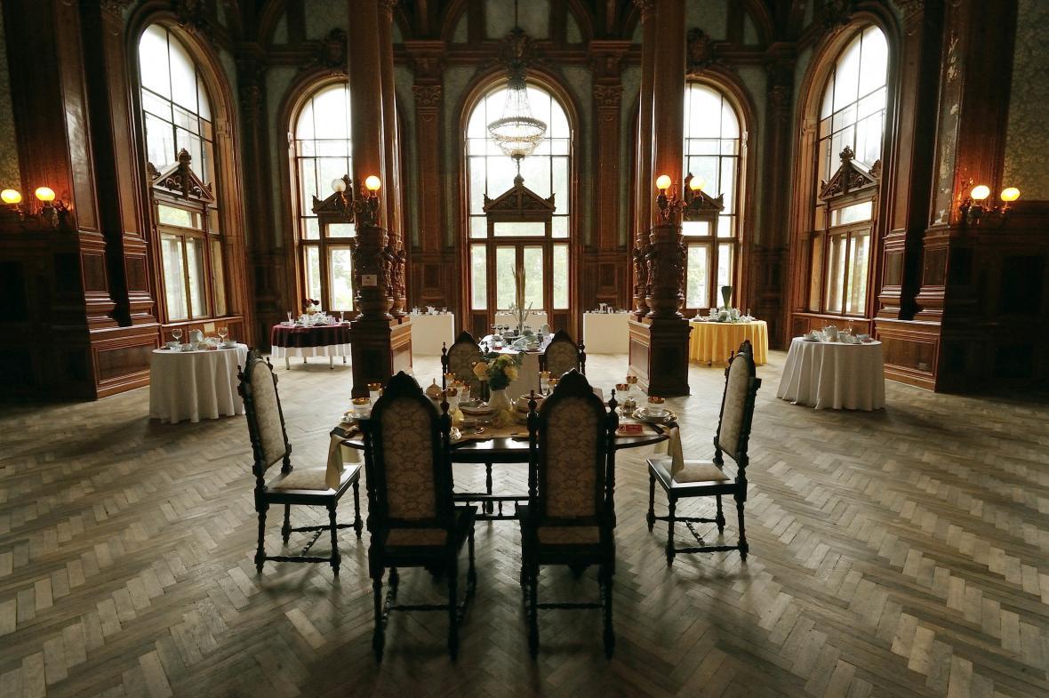 Zanderův sál v Císařských lázních