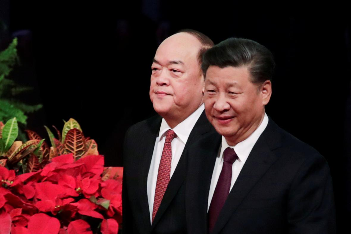Ho Iat-seng a Si Ťin-pching
