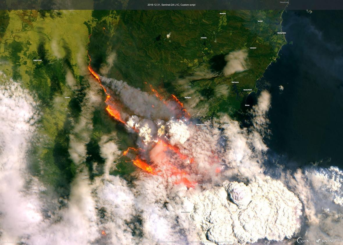 Požáry sužují Austrálii