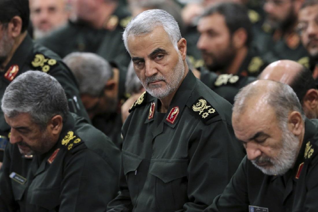 Kásem Solejmání velitel íránských elitních jednotek