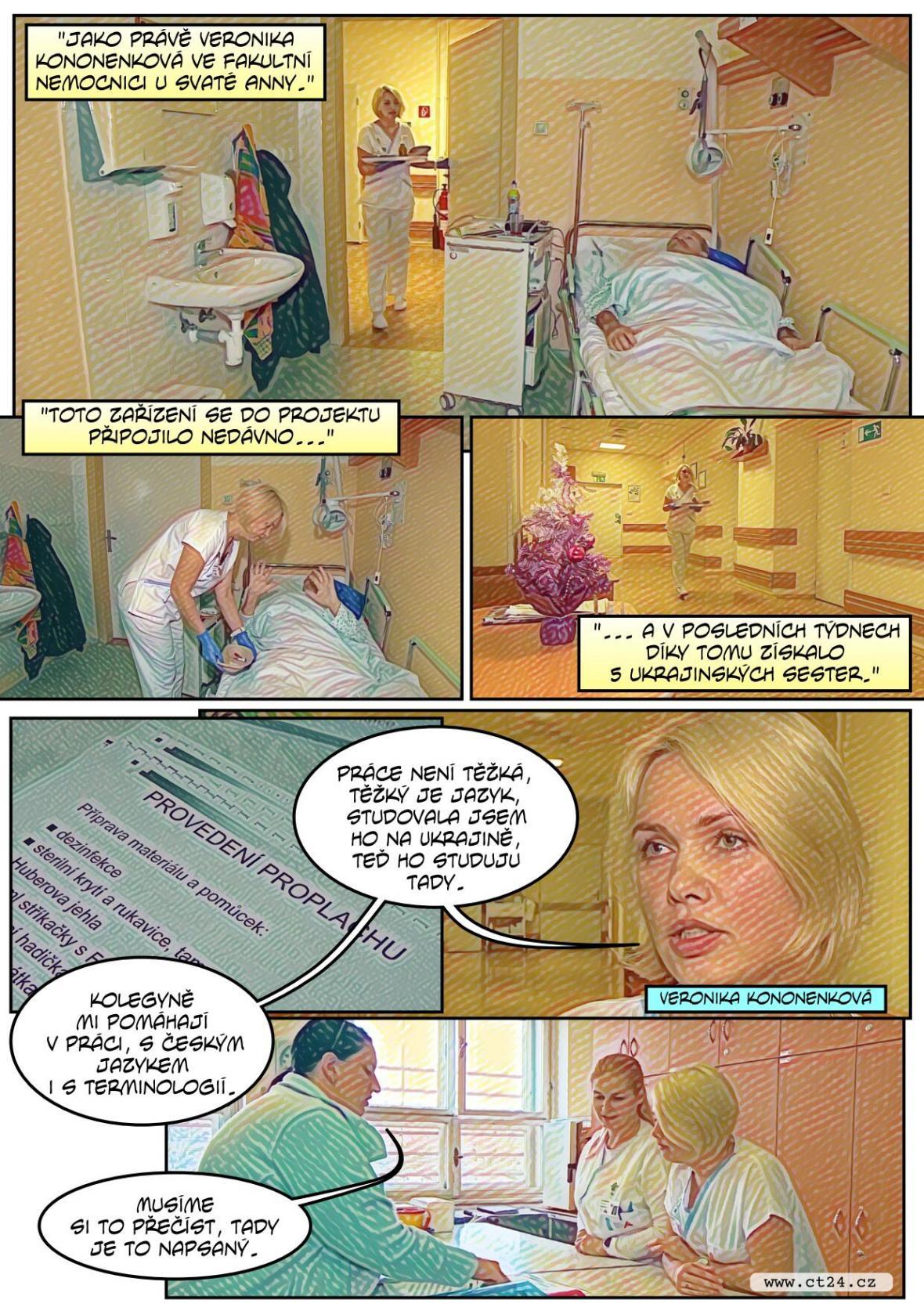 Nemocnicím v Brně chybí zdravotní sestry. Nalákat je má projekt sdíleného bydlení