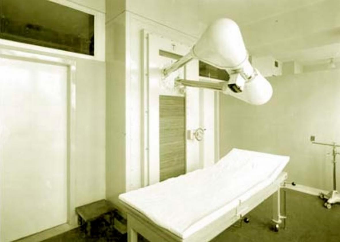 Léčba pacientů na konci 30. letech 20. století