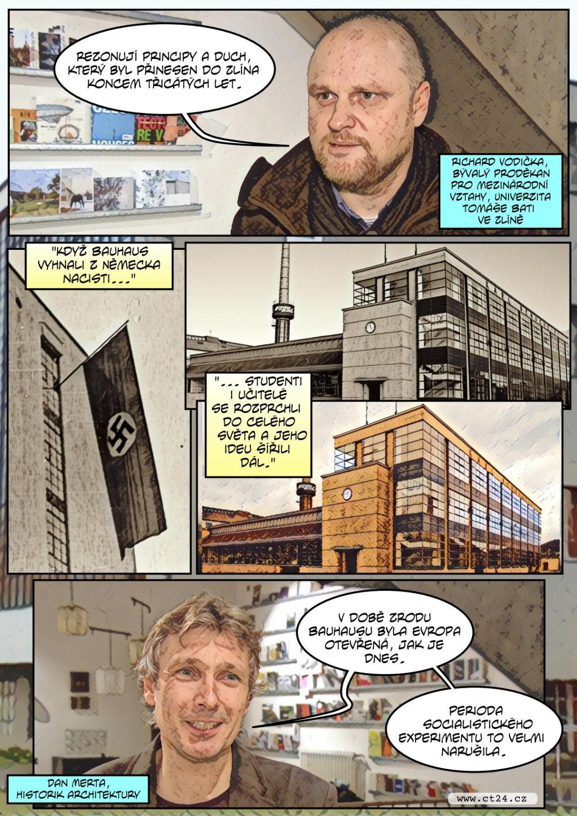 Fenomén Bauhaus - příběh jedné školy