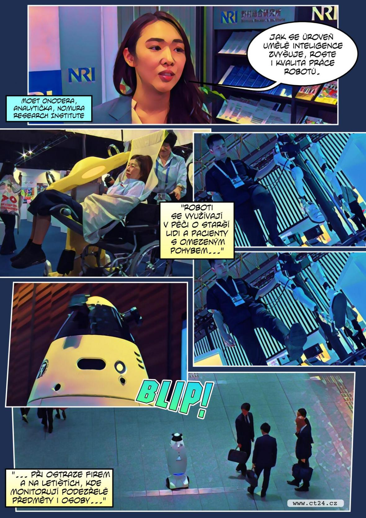 Roboti v Japonsku