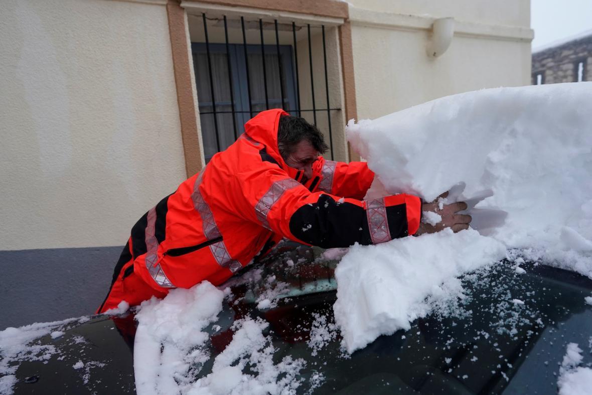 Bouře Gloria zkomplikovala život řadě obyvatel španělské vesnice Morella