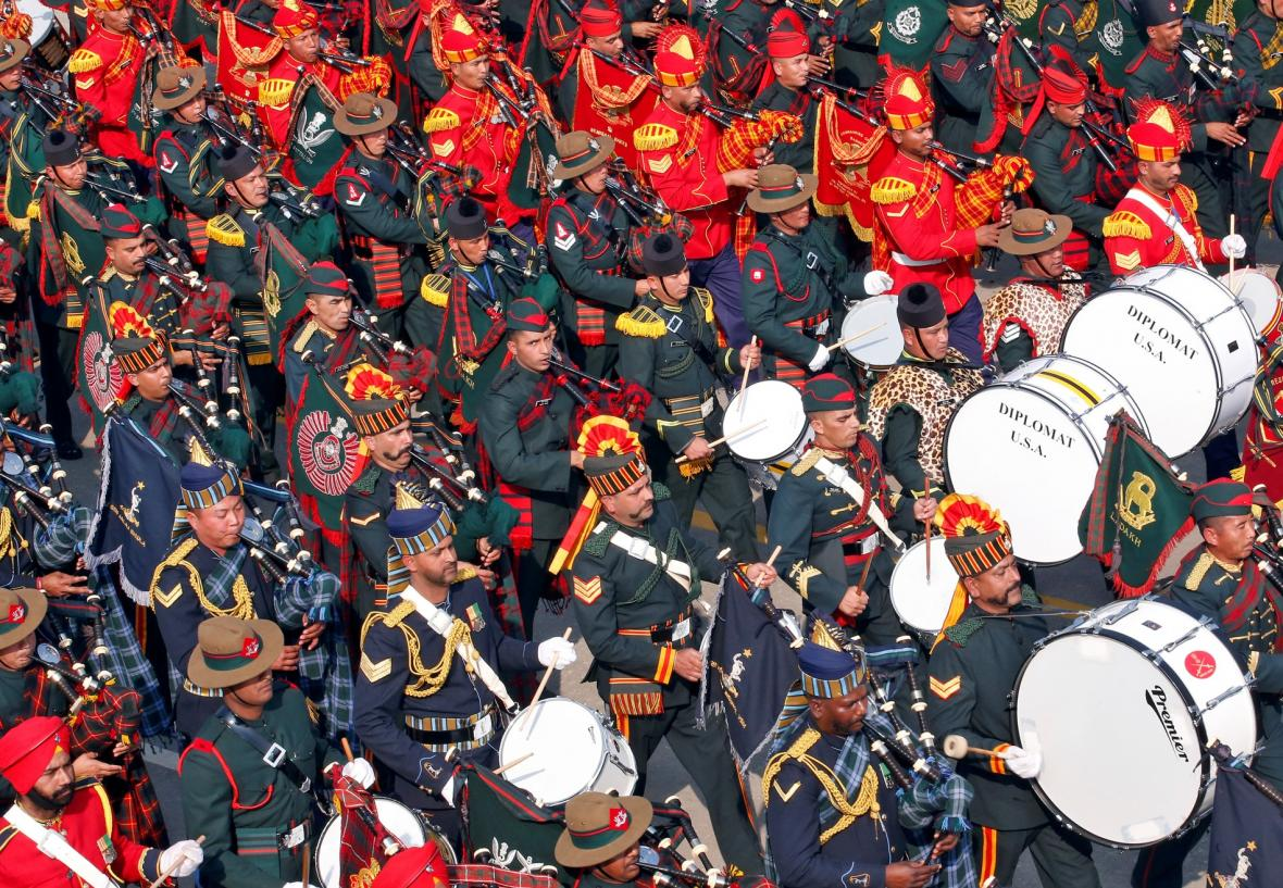Indie slaví Den republiky