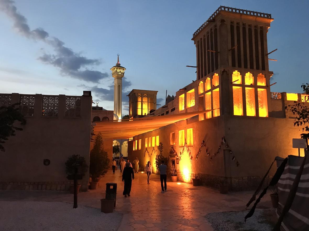 Staré město v Dubaji