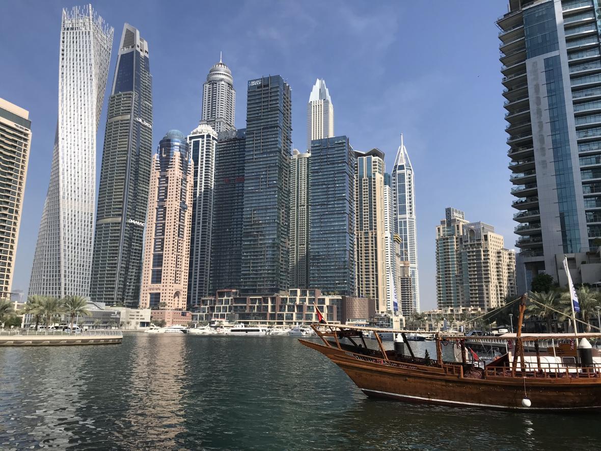 Čtvrť Dubai Marina