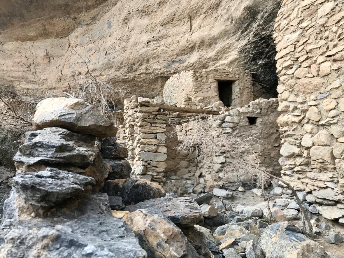Jedna ze zaniklých vesniček