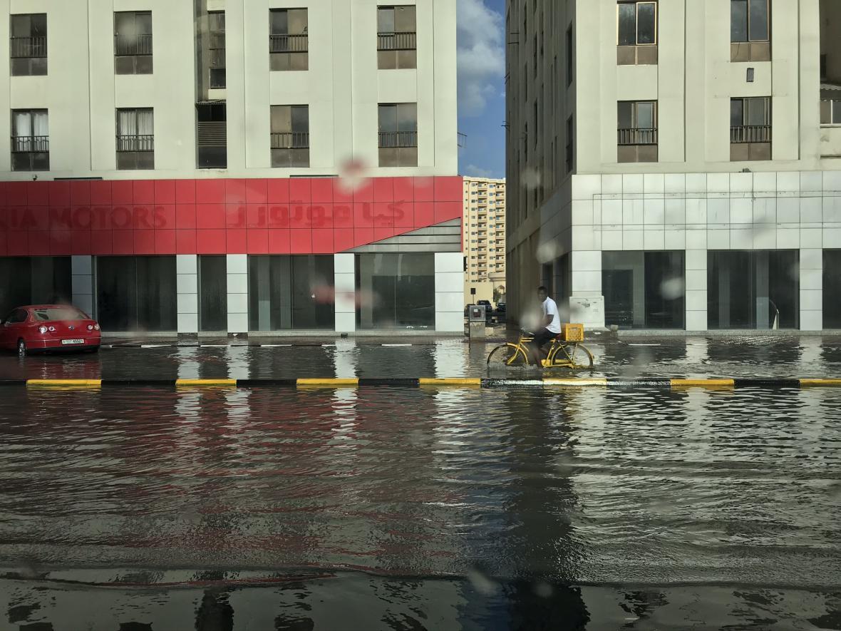 Záplavy v Šardžá