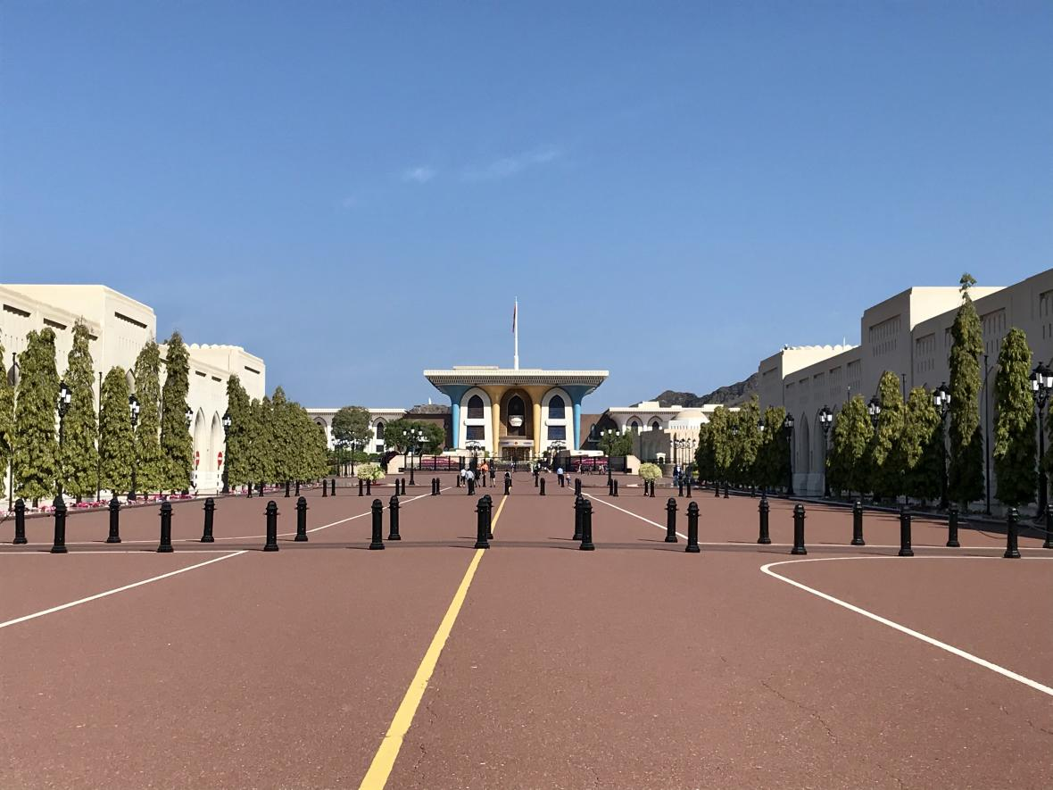 Kábusův palác v Maskatu
