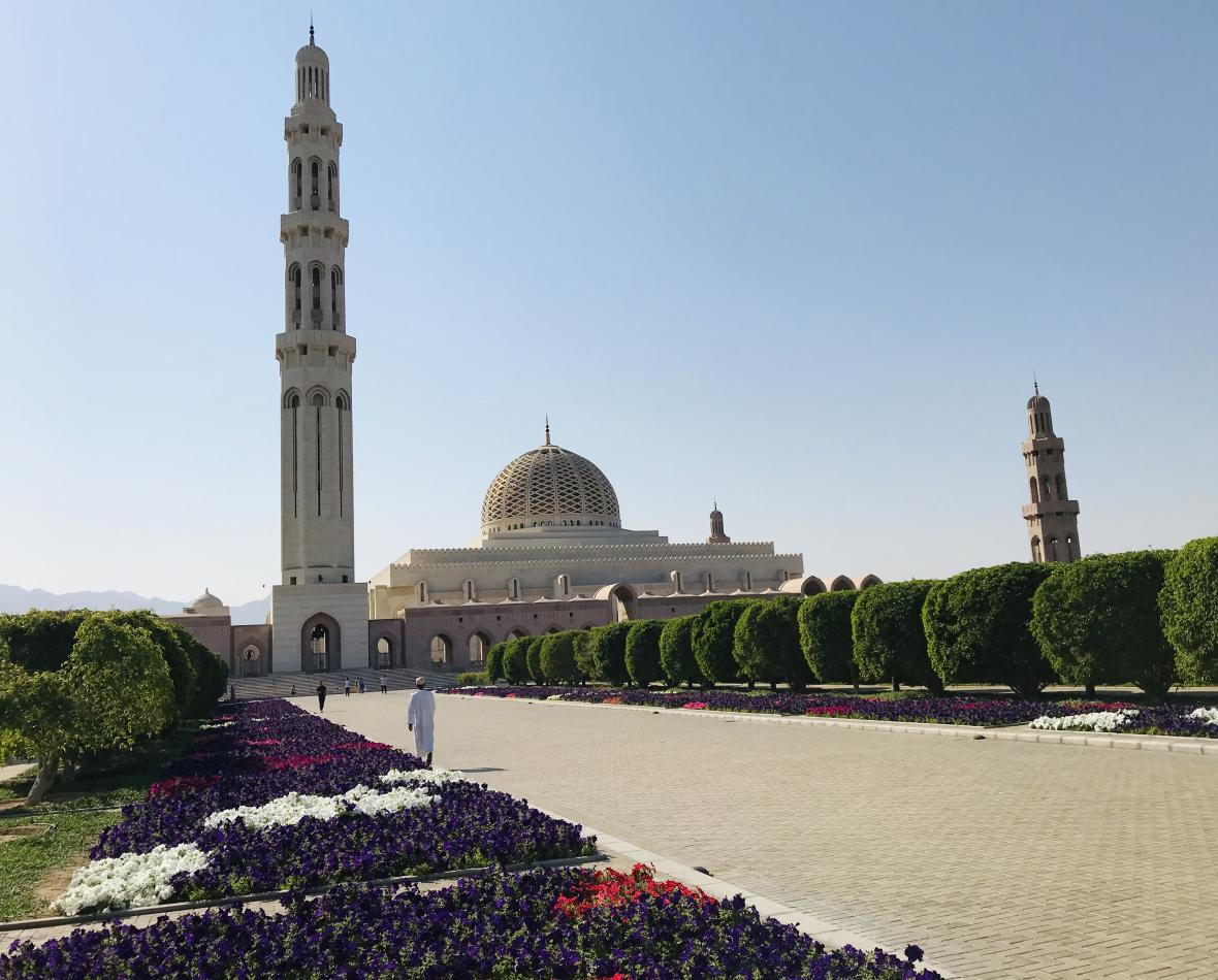 Kábusova mešita v ománském Maskatu
