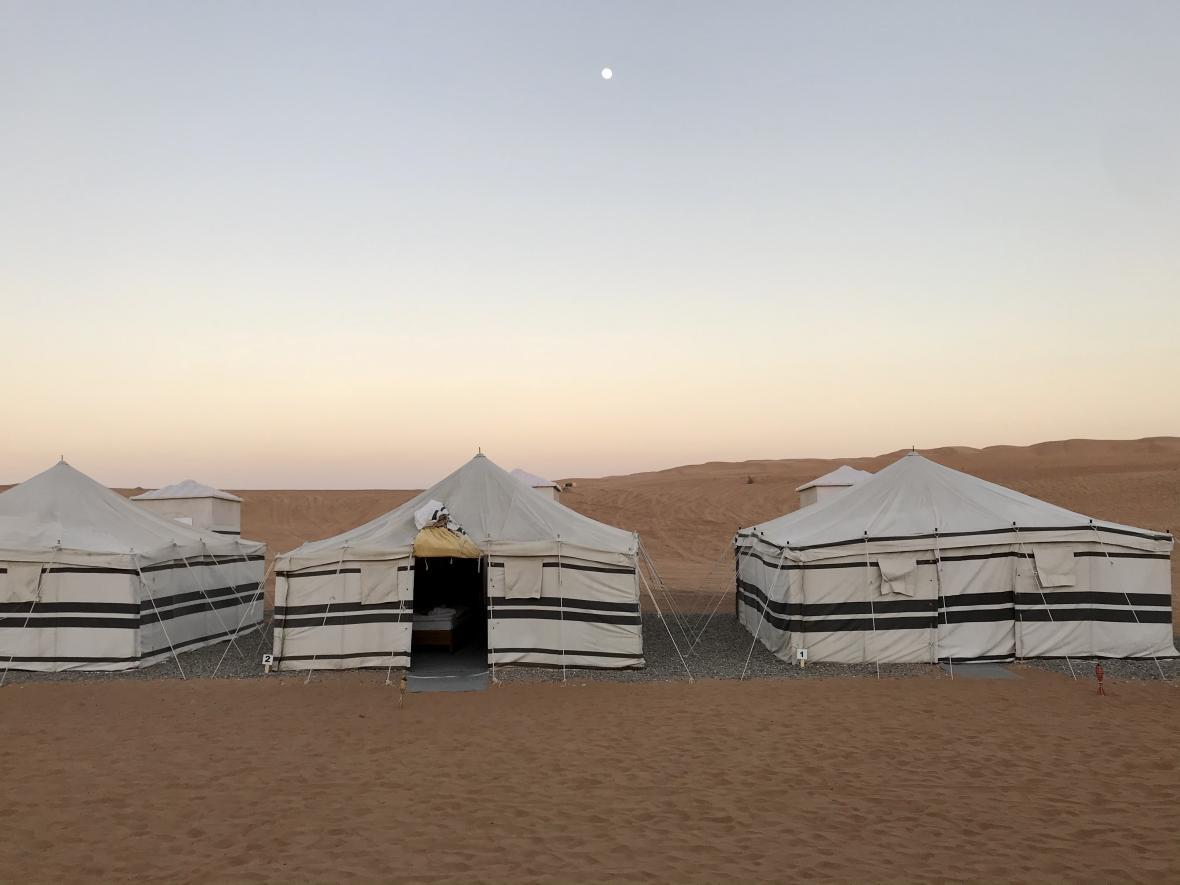 Stany ve Wahibské poušti