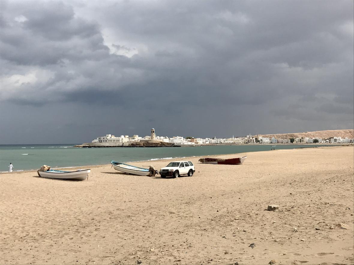 Ománské město Sur