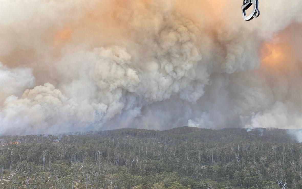 Požáry v Novém Jižním Walesu