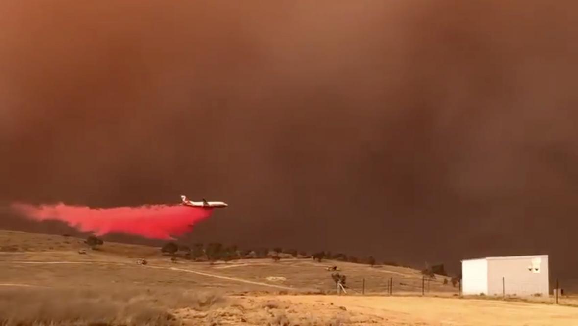 Hašení požárů v Novém Jižním Walesu