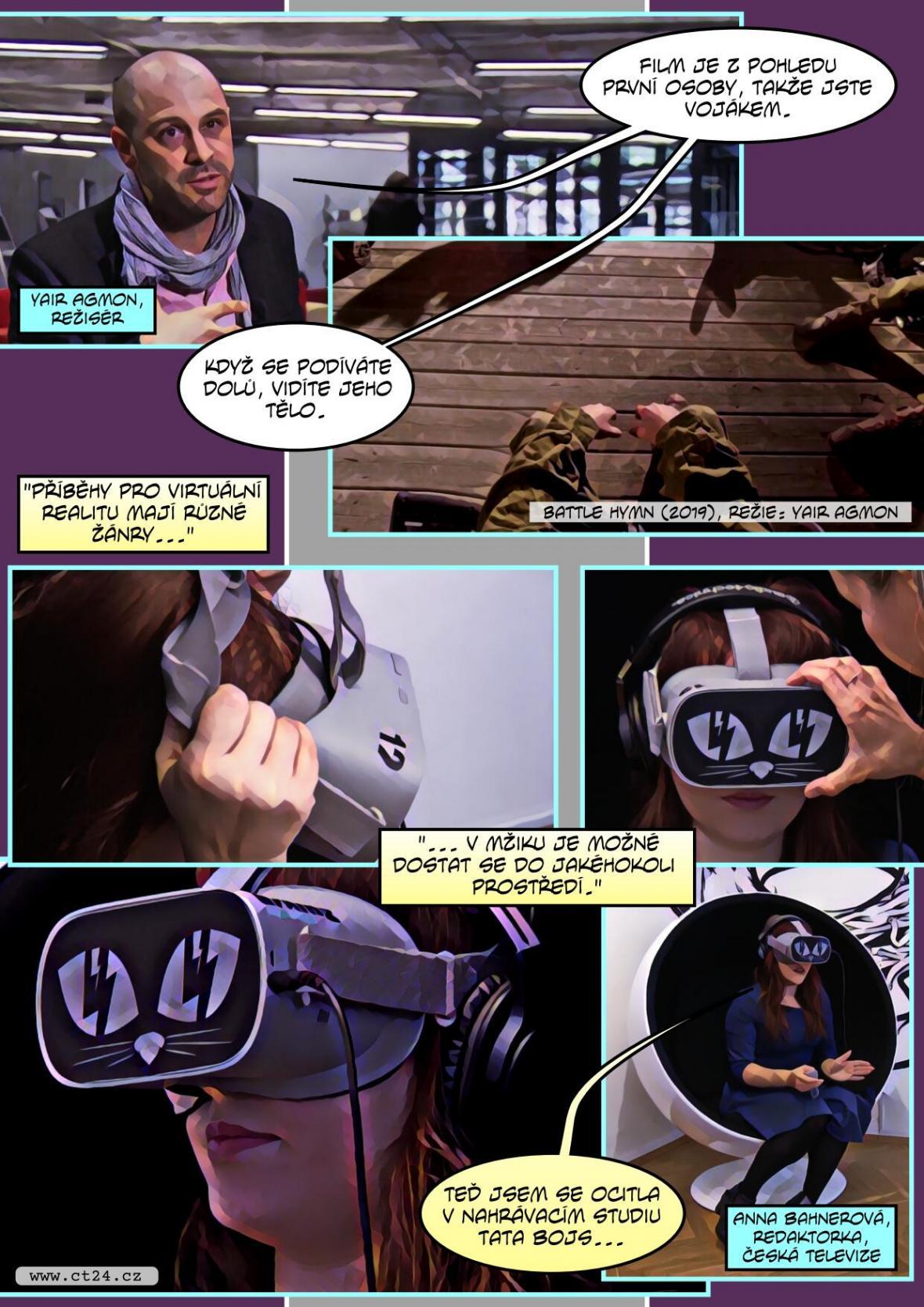 Moderní technologie ve filmu. Diváci se díky virtuální realitě stávají součástí příběhu