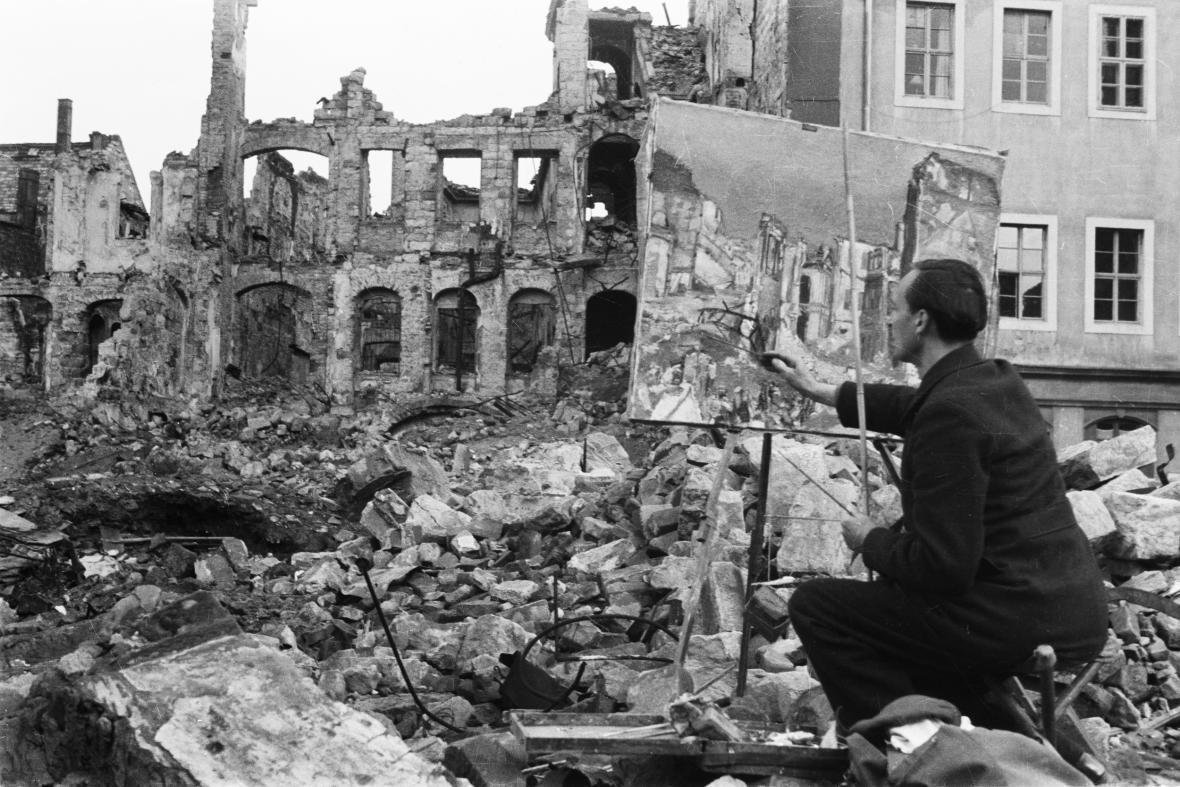 Bombardování Drážďan  v roce 1945