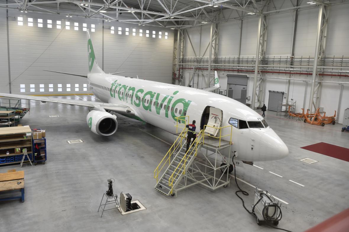 Na mošnovském letišti otevřel nový hangár pro opravy a údržbu civilních letadel