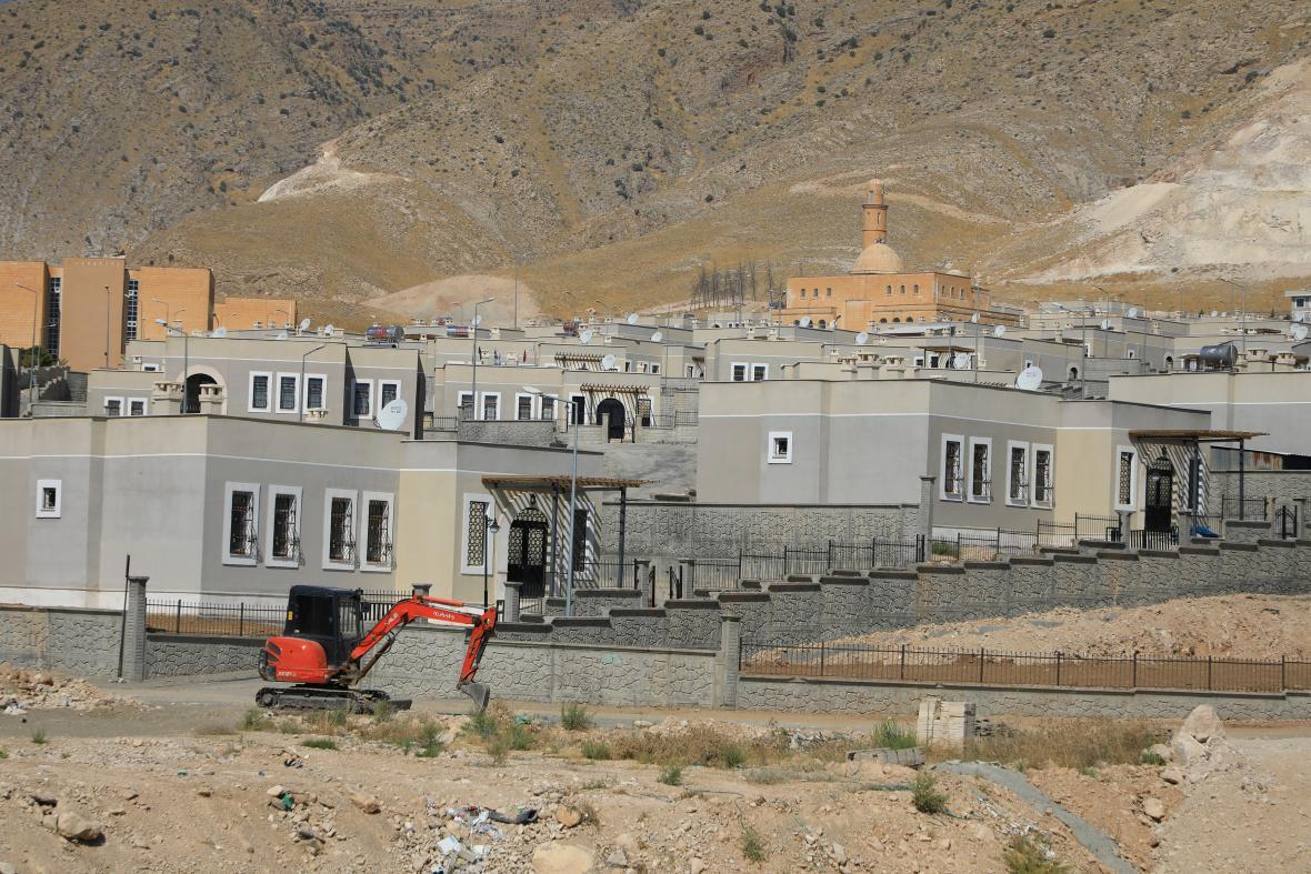 Turecké úřady demolují starobylé město Hasankeyf