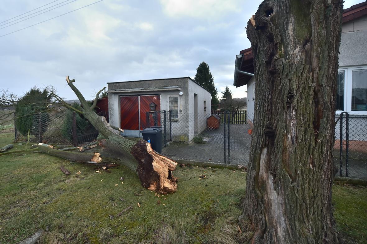 Bouře Sabine přelétla Evropou