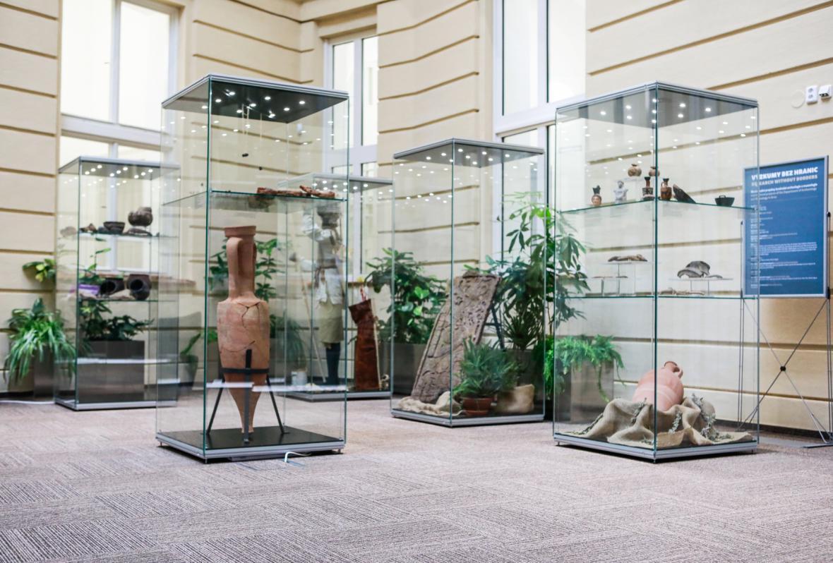 Sbírky a laboratoře Ústavu archeologie a muzeologie Filozofické fakulty Masarykovy univerzity