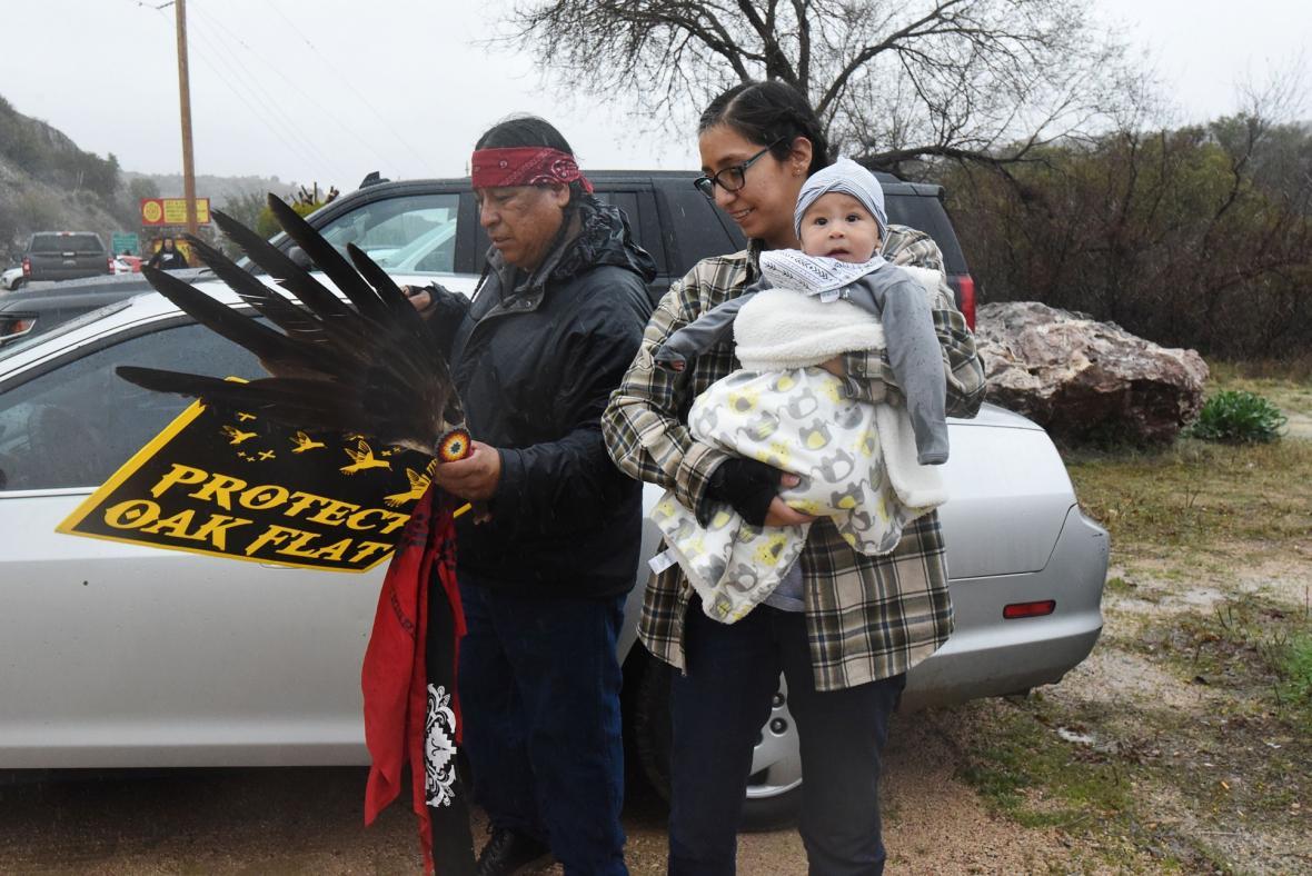 Indiání se bojují o svá území