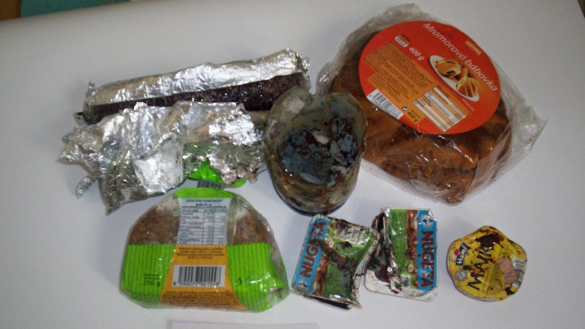 Obsah některých nedoručitelných balíků