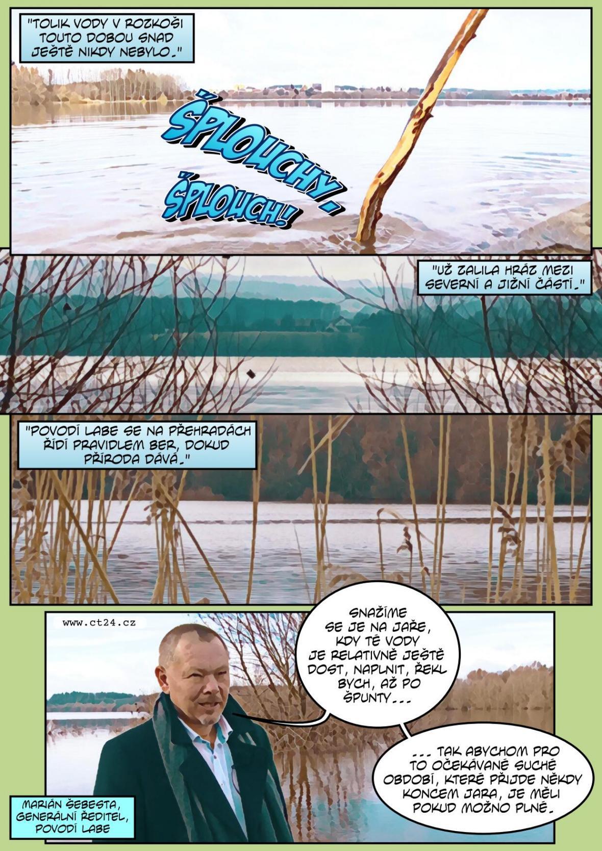 Povodí Labe zavádí opatření proti suchu