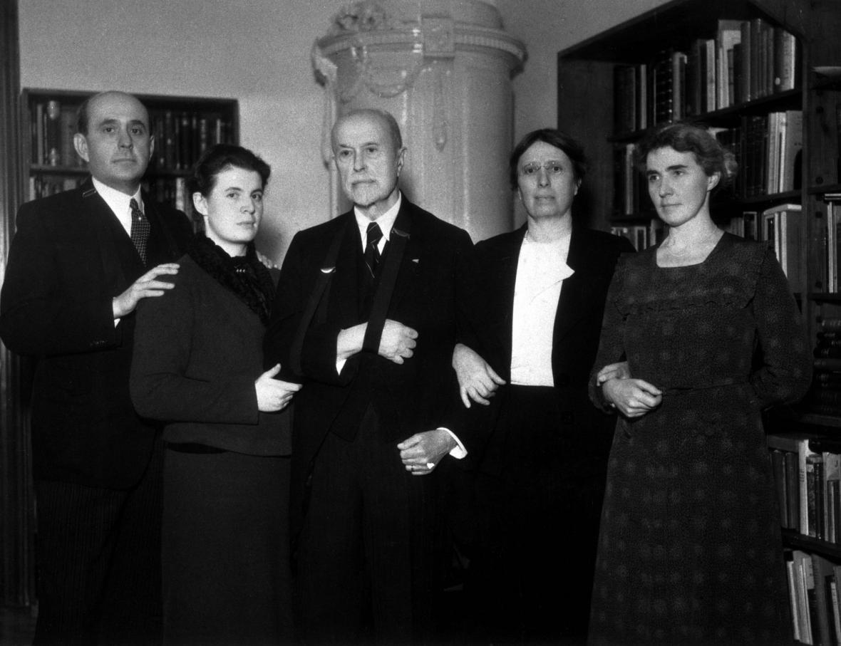 Tomáš Garrigue Masaryk objektivem fotografů