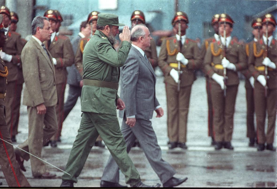Michail Sergejevič Gorbačov v obrazech historie