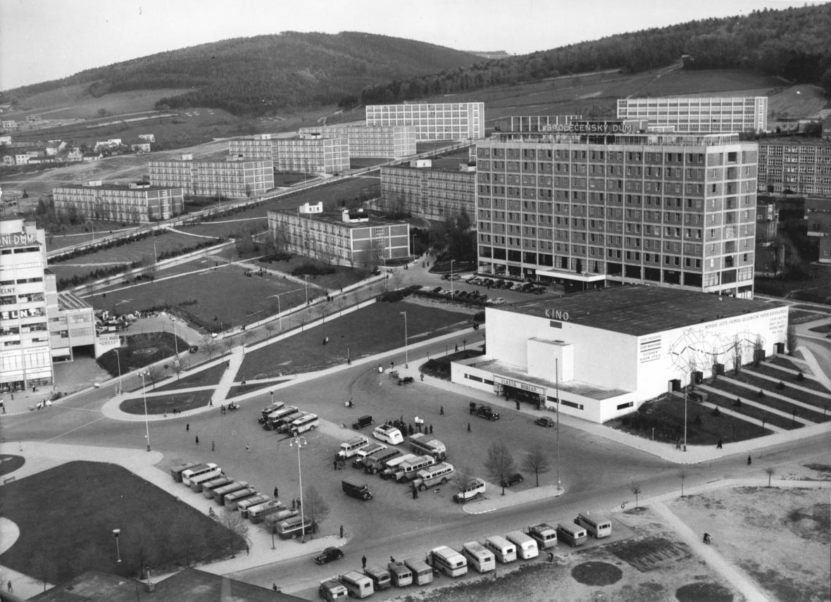 Velké kino ve 40. letech