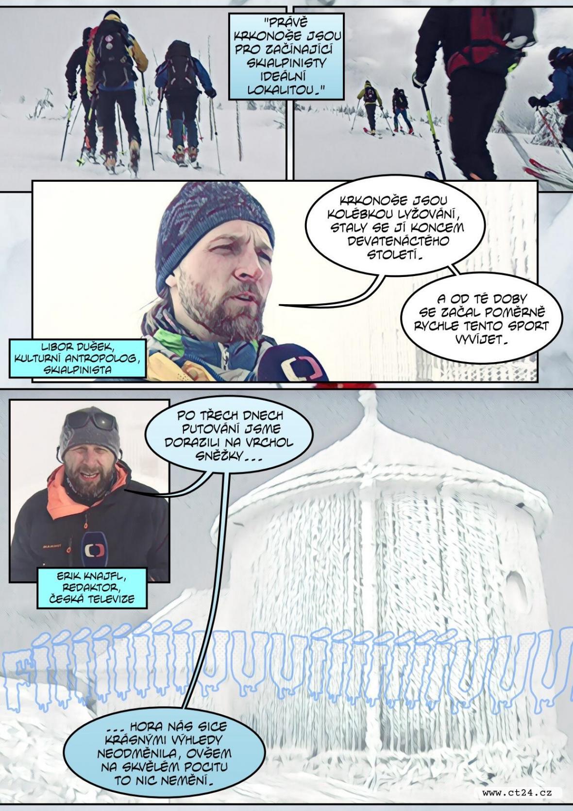 Skialpinismus je stále oblíbenějším