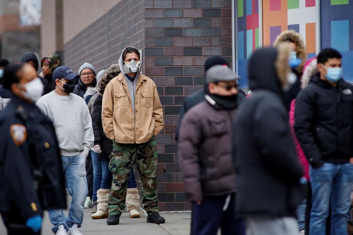 New York se potýká s epidemií koronaviru