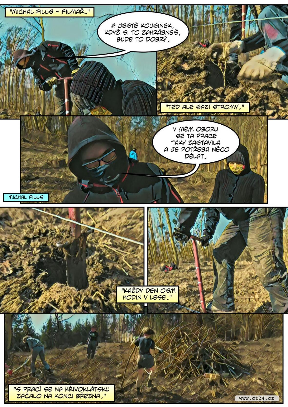 Výzva Lesů ČR