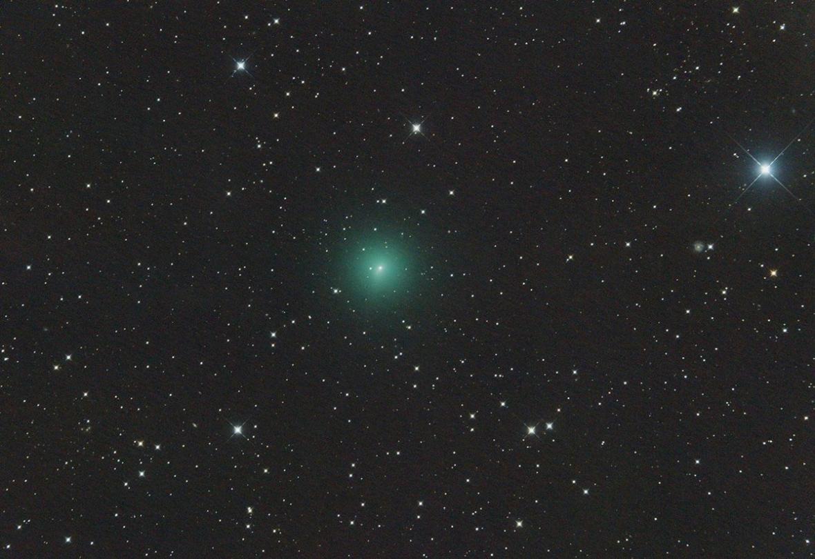 Kometa C/2019 Y4 ATLAS 14. března 2020