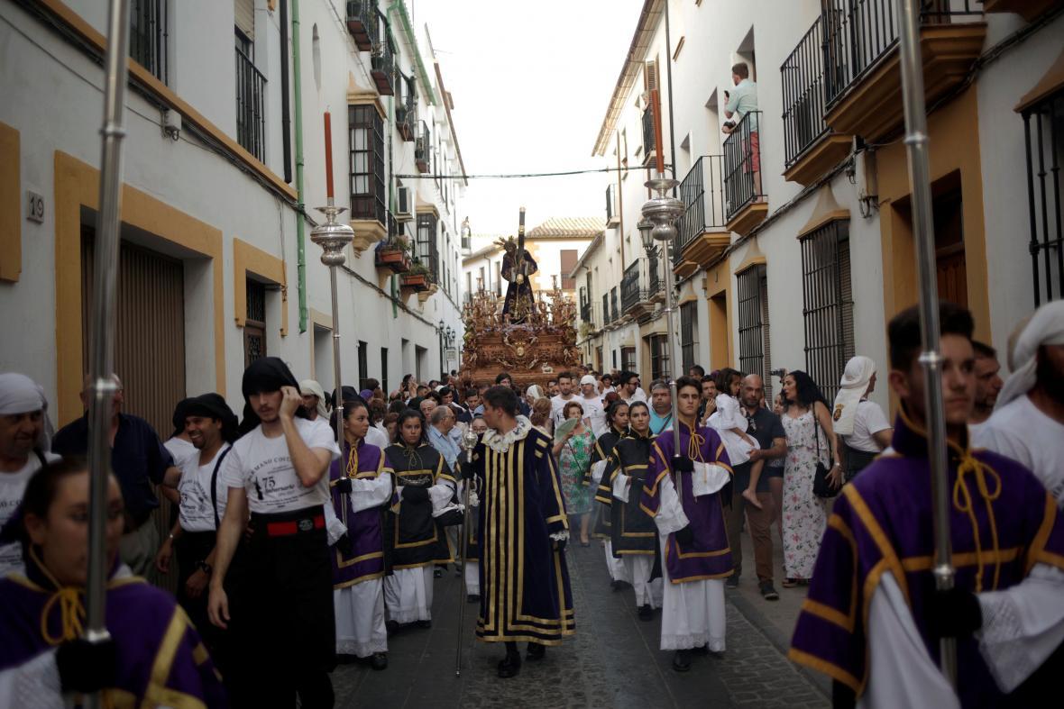 Ulice města Ronda v jižním Španělsku