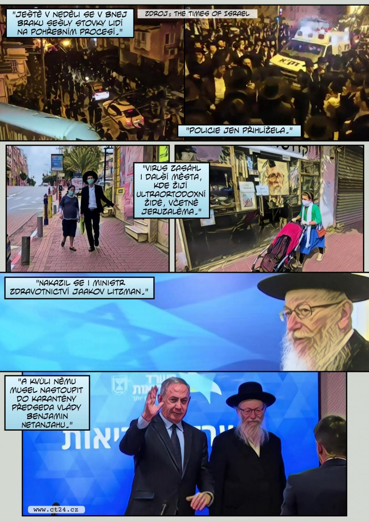 Nikdo dovnitř, nikdo ven. Izrael kompletně uzavřela město Bnej Brak