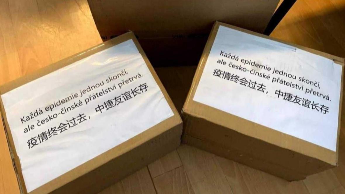 Dodávky z Číny