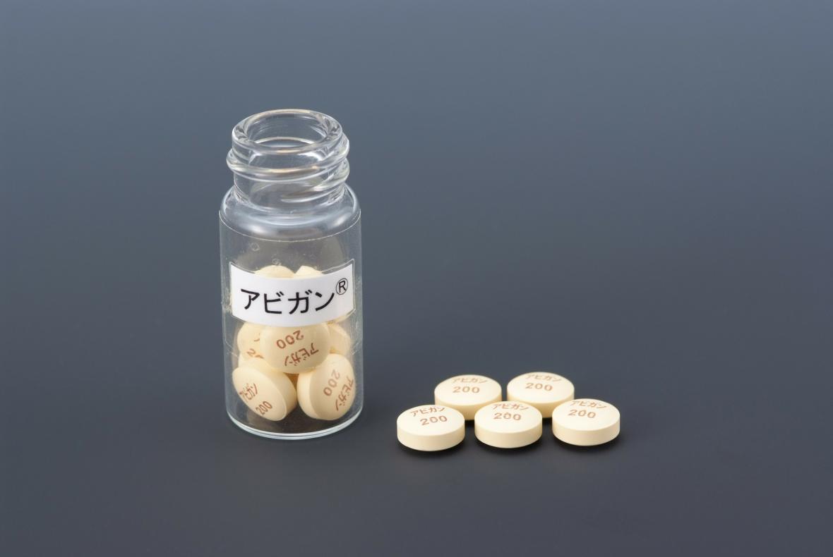 Japonský experimentální lék favipiravir