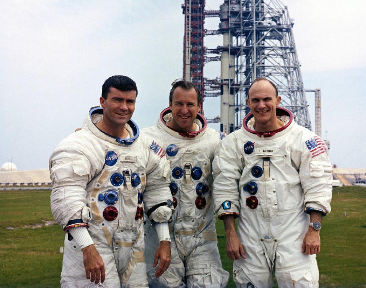 Původní posádka Apolla 13
