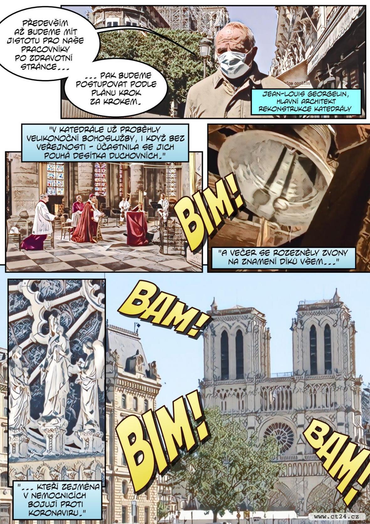 Rok od požáru Notre-Dame