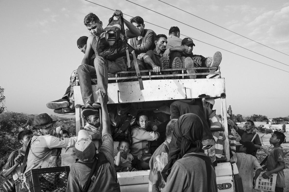 Snímky v kategorii Problémy dnešní doby na World press photo 2020