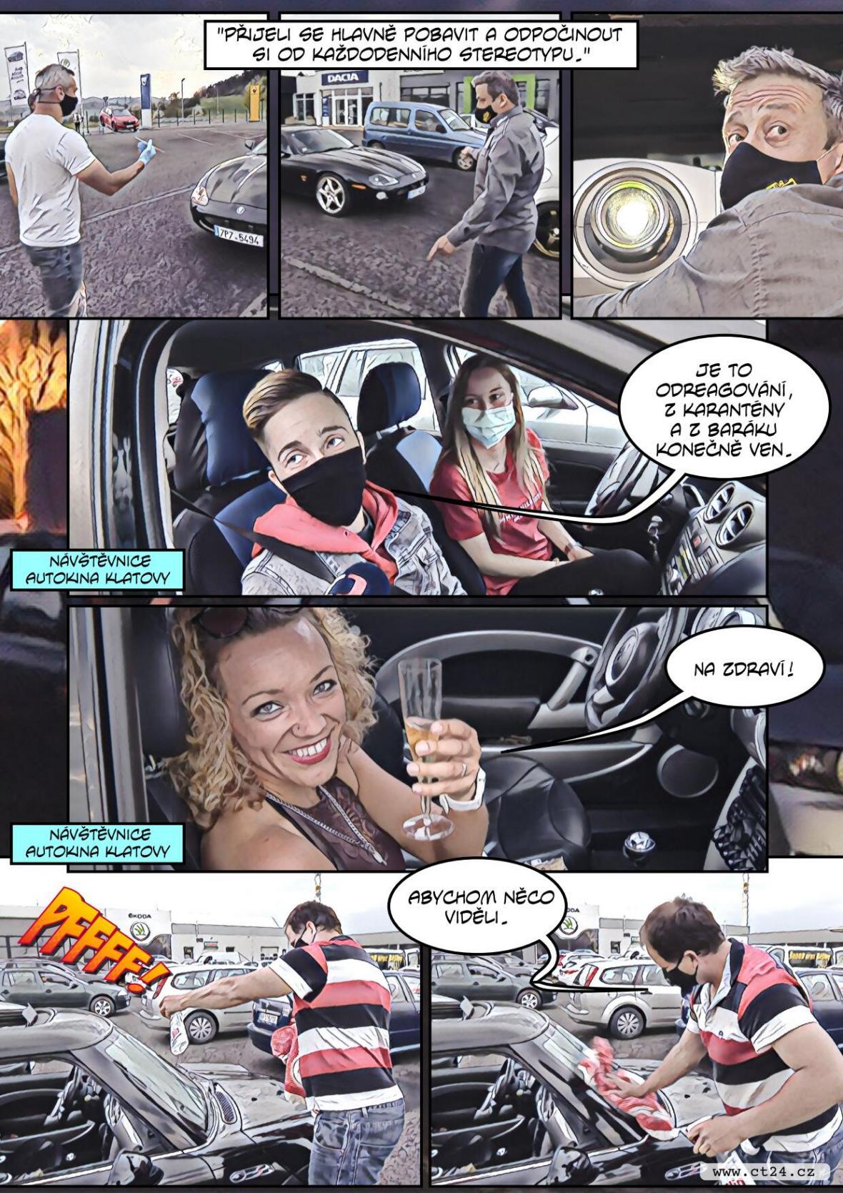 Do kina autem